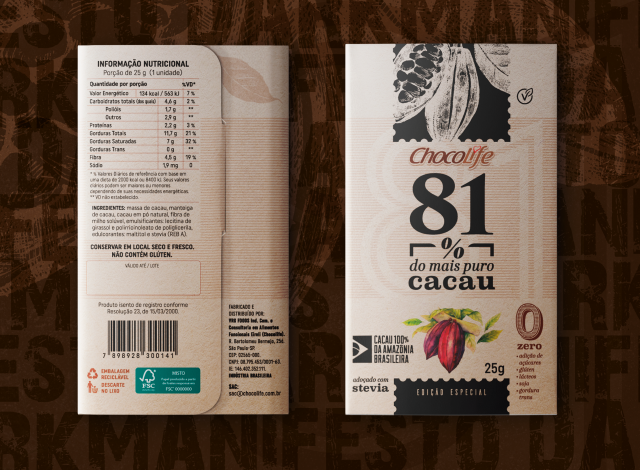 Chocolife | Chocolate 81% Cacau